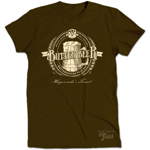 Butterbeer Vintage Harry Potter  t-shirt preview