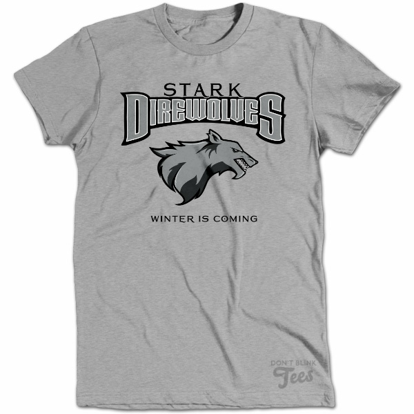 House Stark Game of Thrones Team  t-shirt preview