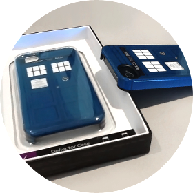 Redbubble TARDIS iPhone cases