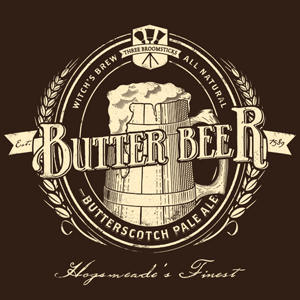 Butterbeer Vintage Harry Potter T-Shirt