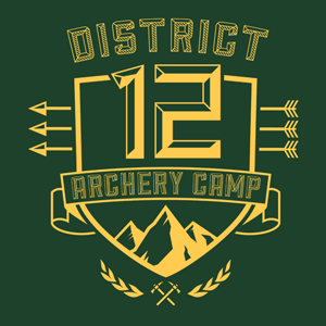 District 12 Archery Hunger Games T-Shirt