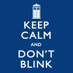 The Keep Calm and Don't Blink Doctor Who T-Shirt