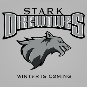 House Stark Game of Thrones Team T-Shirt