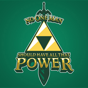 Triforce Power Legend of Zelda T-Shirt