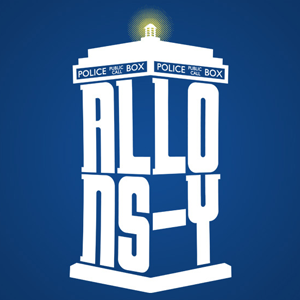 Allons-y Doctor Who TARDIS T-Shirt